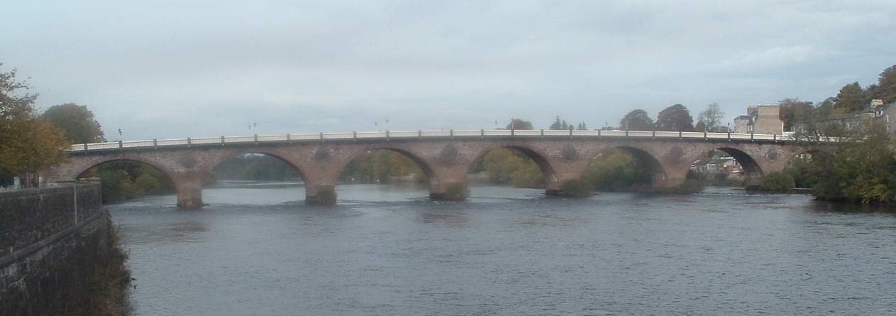 Bridge over Tay at Perth