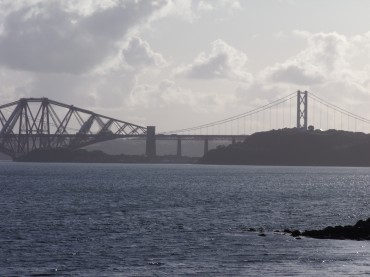 Forth Bridges from Dalgety Bay.