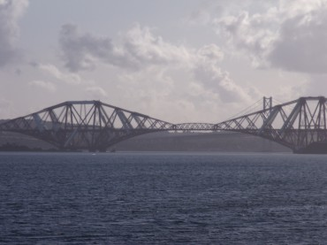 Forth Bridges towards Lothian